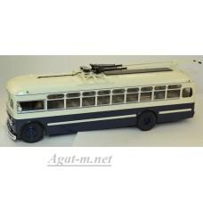 2/1А-УЛТ МТБ-82Д троллейбус (Тушино), бежевый