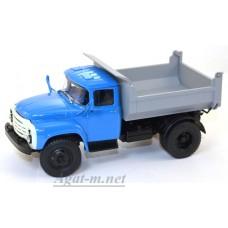 003А-УЛТ ЗИЛ-ММЗ-4502 самосвал, сине/серый