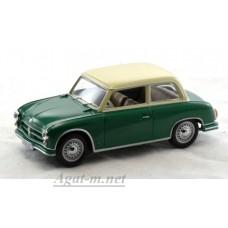AWZ P70 Limousine 1955 г. зеленый / сливки