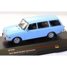 038-ИСТ WARTBURG 353 Kombi 1972 (old grill) Light blue