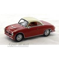 042-ИСТ AWZ P70 Coupe 1958 г. темно-бордовый / белый
