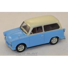 046-ИСТ TRABANT P50 kombi 1959 Blue/Beige