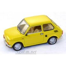 072-ИСТ POLSKI FIAT 126P (Maluch) 1973 Light Yellow