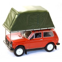 "295-ИСТ ВАЗ 2121 ""НИВА"" с палаткой 1981г., Red"