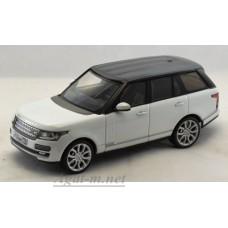Масштабная модель Range Rover Vogue Edition 2013 г. белый/черный