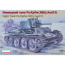 35145-ВСТ Немецкий легкий танк Pz.Kpfw.38 (t) Ausf. G