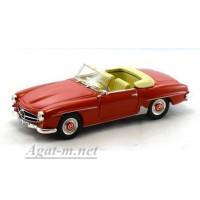001-WB Mercedes-Benz 190 SL 1955 г. красный