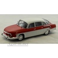 049-WB Tatra 603 1962 г. белый / красный
