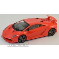 054-WB Lamborghini Sesto Elemento 2010 красный
