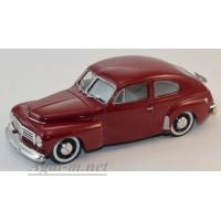 055-WB Volvo PV444 1943 темно-красный