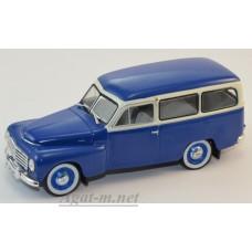 Масштабная модель Volvo PV445 Duett 1953 синий/кремовый