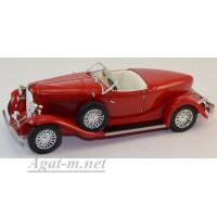 069-WB Auburn Boat Tail Roadster 1933 красный