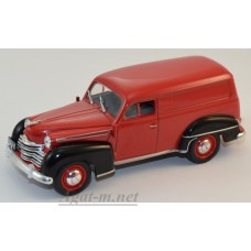Масштабная модель Opel Olympia (фургон) 1950 красно-черный