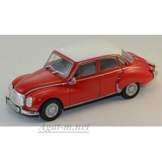 Масштабная модель DKW Vemag Belcar 1965 красно-белый