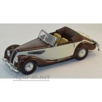 087-WB BMW 327 Convertible 1939 коричневый/бежевый