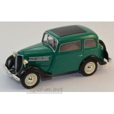 Масштабная модель Rosengart Super 5 LR4N 1938 зеленый/черный