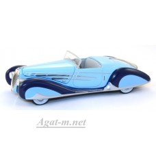 097-WB DELAHAYE 165 V12 1938 Light Blue/Blue