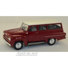 109-WB CHEVROLET Amazona 4х4 1963 Dark Red/White