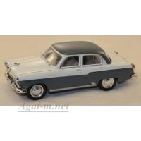 134-WB Горький-21Д, 1958г. серый/белый