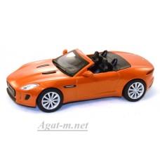 166-WB JAGUAR F-TYPE S 2014 Metallic Dark Orange