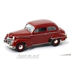 Масштабная модель Opel Olympia Limousine 1951 г. темно-красный