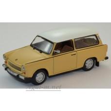 083-WB Trabant 601 Universal 1965, Beige/White