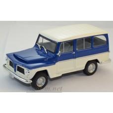092-WB Willys Rural 4х4 1968, Blue/White