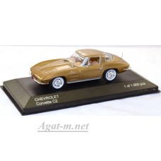170-WB CHEVROLET Corvette C2 Stingray 1963 Metallic Bronze
