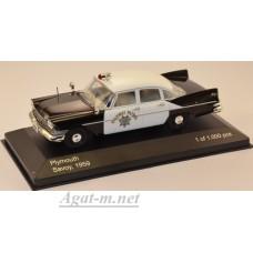 "172-WB PLYMOUTH Savoy ""California Highway Patrol"" 1959"