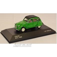 "184-WB CITROEN 2CV ""I Fly Bleifrei"" 1986 Green"