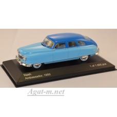 188-WB NASH Ambassador 1950 Light Blue/Blue