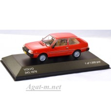 208-WB VOLVO 343 (3 двери) 1976 Red
