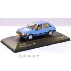 209-WB MAZDA 323 Hatchback 1982 Metallic Blue