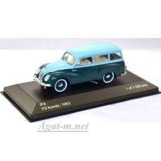 210-WB IFA F9 Estate 1953 Turquoise/Dark Green