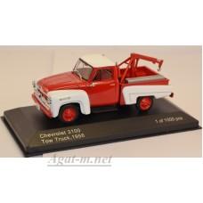 233-WB CHEVROLET 3100 пикап-техничка 1956 Red/White