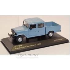 255-WB TOYOTA LAND CRUISER Bandeirante Pick-Up 4х4 1976 Blue