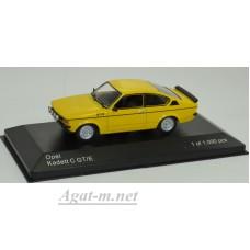 268-WB OPEL Kadett C GT/E 1978 Yellow