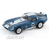 94242-1-ЯТ Shelby Daytona Cobra Coupe 1965г. голубой