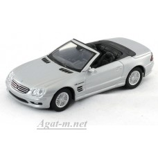 94247-ЯТ Mercedes-Benz SL55, серебристый