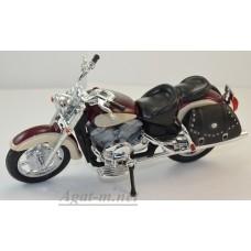 98900-1-ЯТ Yamaha XVZ 1300 A Royal Star, бордовый