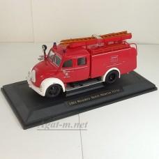 43010-1-ЯТ Magirus-Deutz TLF16 1961г. пожарный (белые крылья)