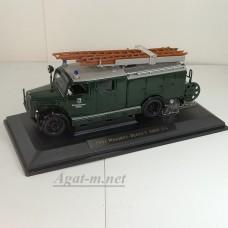 43014-1-ЯТ Magirus-Deutz 330 1950г. пожарный (зеленый)