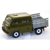10009-1-УСР УАЗ-39094 Фермер без тента, зеленый