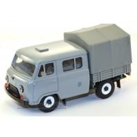 10010-2-УСР УАЗ-39094 Фермер с тентом, темно-серый