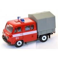 10012-1-УСР УАЗ-39094 Фермер с тентом пожарный