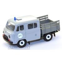 10030-УСР УАЗ-39094 Фермер без тента ДПС, серый