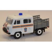 12035-УСР УАЗ-39094 Фермер без тента МЧС (пластик крашенный), таблетка