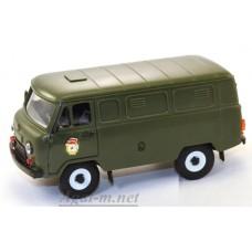 """11003-УСР УАЗ-3741 фургон военный """"Гвардия"""" (пластик)"""