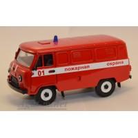 12003-1-УСР УАЗ-3741 фургон пожарный (пластик крашенный)