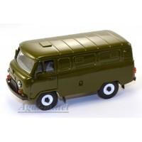 12018-3-УСР УАЗ-3741 фургон (пластик крашенный), зеленый